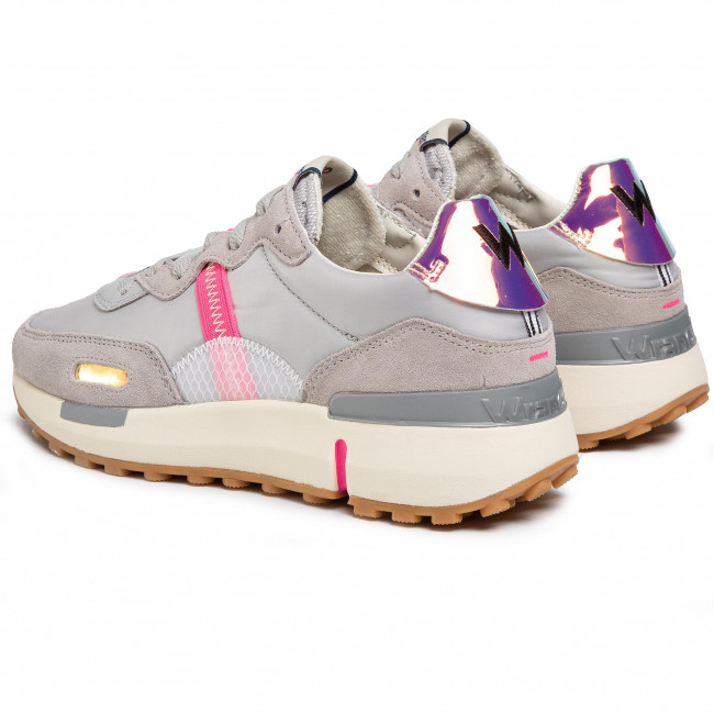 Sportcipő WRANGLER - Iconic 70 Ns WL01631A Grey 055 - Sneakers - Félcipő - Női T9GEH