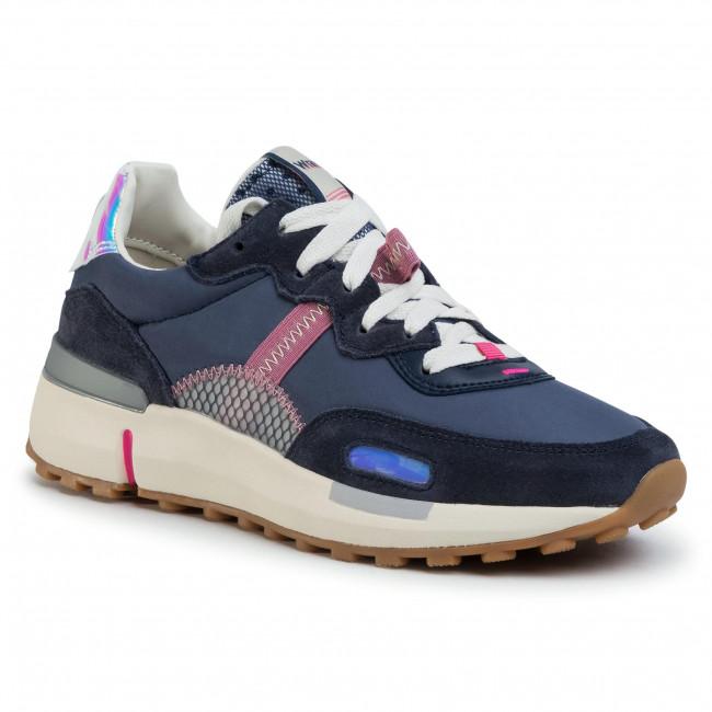 Sportcipő WRANGLER - Iconic 70 Ns WL01631A Navy 016 - Sneakers - Félcipő - Női wrZ1p