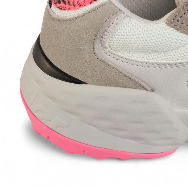 Sportcipő WRANGLER - Iconic 90 Sm WL01650A Grey/Fuxia 705 - Sneakers - Félcipő - Női QZroN