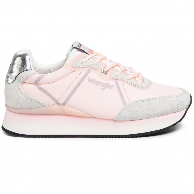 Sportcipő WRANGLER - Jungle Nylon WL01611A  Lt.Pink 240 - Sneakers - Félcipő - Női IofWf