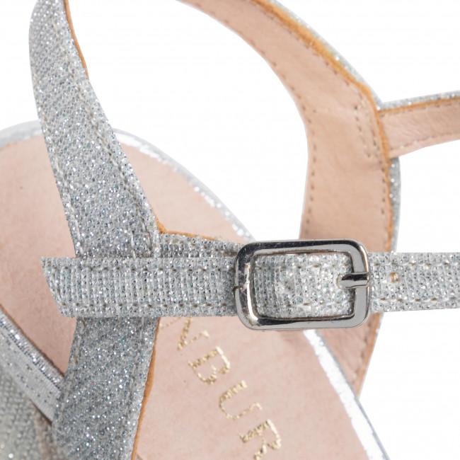 Szandál MENBUR - 21348 Silver 0009 - Elegáns szandálok - Szandálok - Papucsok és szandálok - Női XMUlv