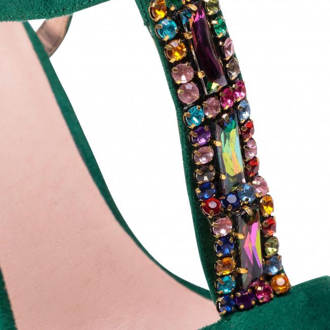 Szandál MENBUR - 21501 Green 0011 - Hétköznapi szandálok - Szandálok - Papucsok és szandálok - Női cXHcj