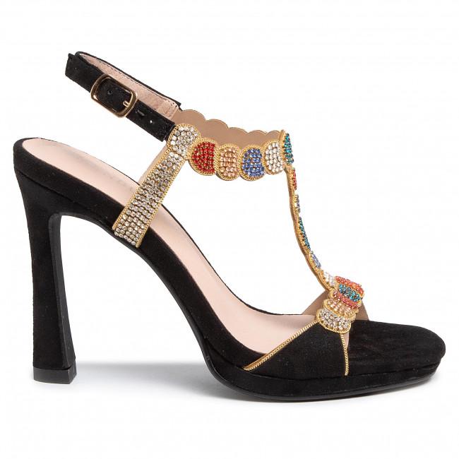 Szandál MENBUR - 21575 Black 0001 - Elegáns szandálok - Szandálok - Papucsok és szandálok - Női kWtto