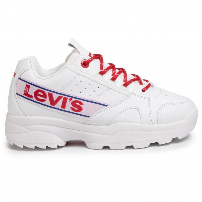 Sportcipő LEVI'S - VSOH0023S White 0061 - Sneakers - Félcipő - Női YfEnq