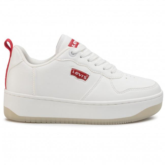 Sportcipő LEVI'S - VQUE0011S  White 0061 - Sneakers - Félcipő - Női zn89U