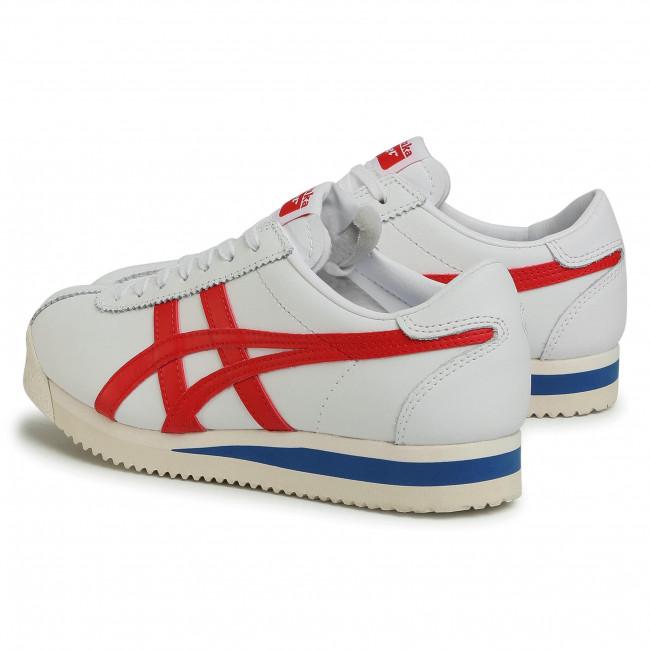 Sportcipő ONITSUKA TIGER - Tiger Corsair 1183B397 White/Classic Red 100 - Sneakers - Félcipő - Női NKd5E