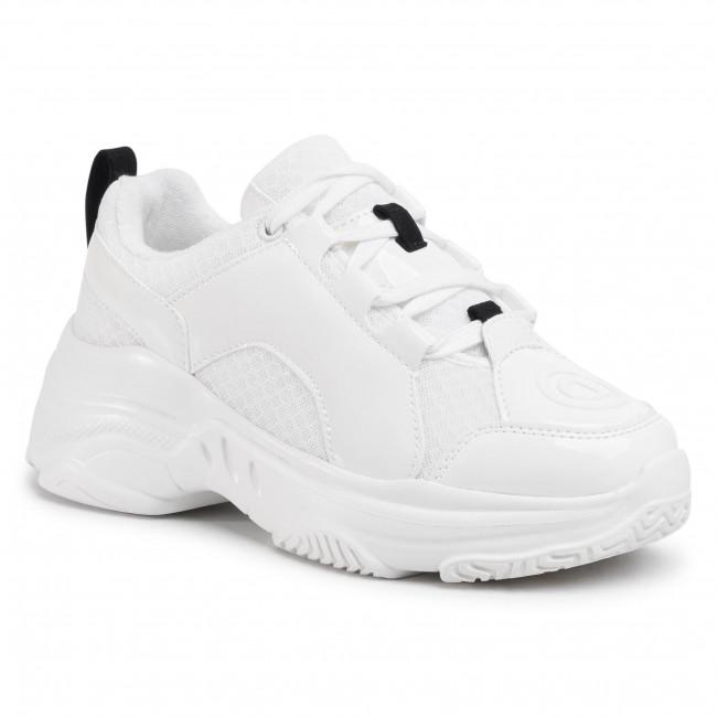 Desigual fehér platform cipô Chunky Sneaker