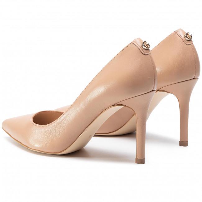 Tűsarkú GUESS - Dafne FL7DAE LEA08 BEIGE - Tűsarkú cipő - Félcipő - Női SNbrK