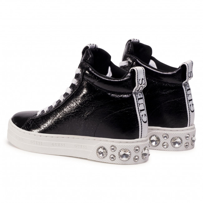 Sportcipő GUESS - Remmy FL7REY LEL12 BLACK - Sneakers - Félcipő - Női xyJjD
