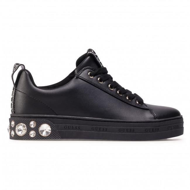 Sportcipő GUESS - Rivet FL7RIT ELE12 Black - Sneakers - Félcipő - Női N6D5r