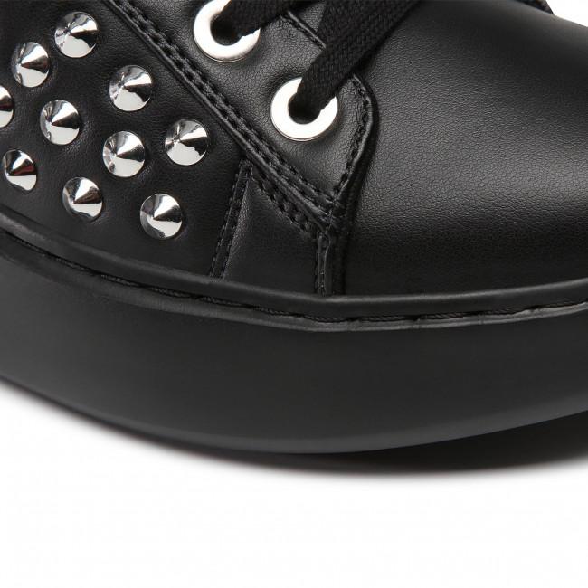 Sportcipő GUESS - Brandyn2 FL7BN2 ELE12 BLACK - Sneakers - Félcipő - Női stlUX