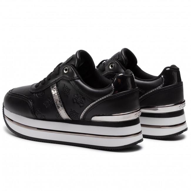 Sportcipő GUESS - Dafnee FL7DFE FAL12 BLACK - Sneakers - Félcipő - Női Mb4G5