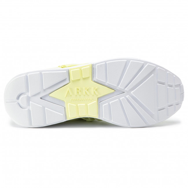 Sportcipő ARKK COPENHAGEN - Raven Mesh S-E15 CO1410-0016-W Yellow Glow/White - Sneakers - Félcipő - Női DqrzN