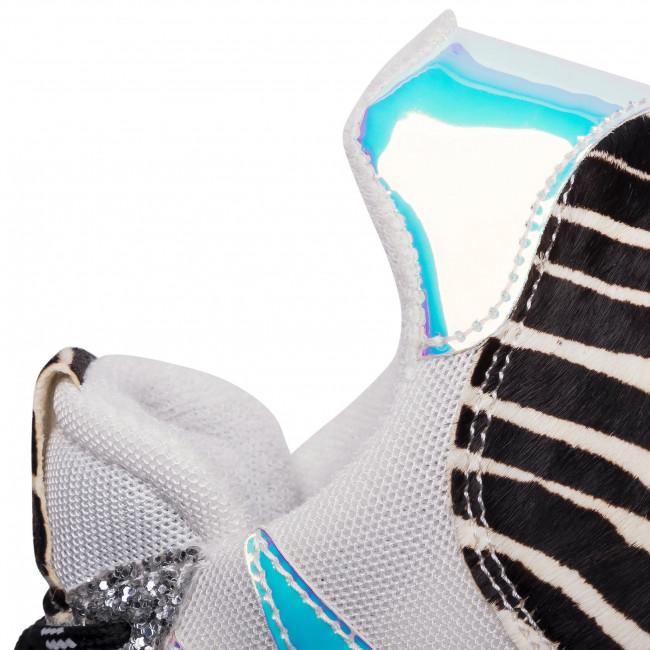 Sportcipő HEGO'S MILANO - 1272 Silver - Sneakers - Félcipő - Női g8GZI