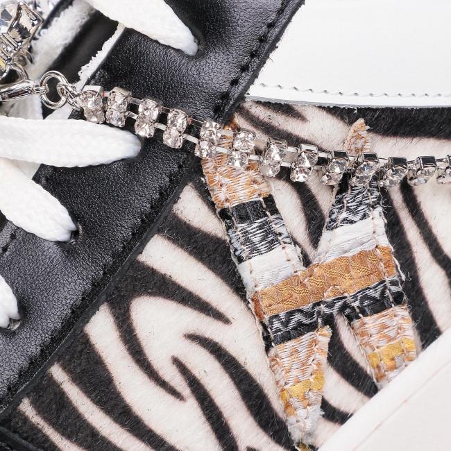 Sportcipő HEGO'S MILANO - 1333 Combi Zebra/Bianco/Giallo - Sneakers - Félcipő - Női dYr8O