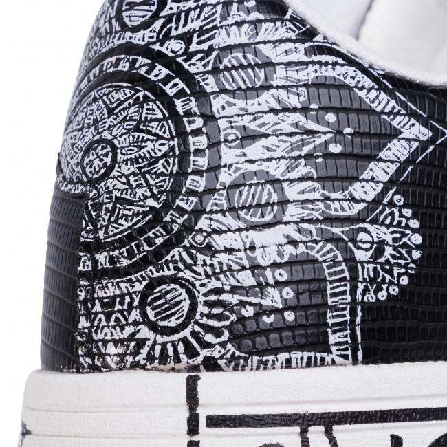 Sportcipő DESIGUAL - Cosmic Exotic Indian 20SSKP26 2000 - Sneakers - Félcipő - Női LwEyq