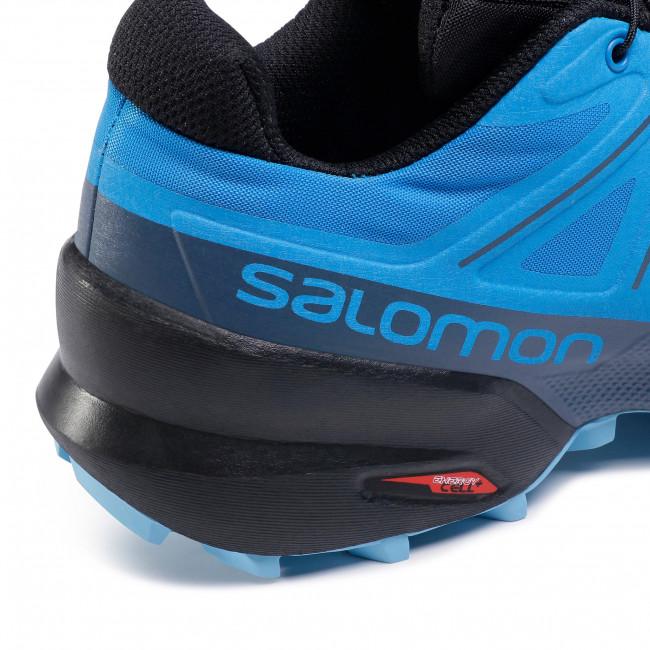 Cipő SALOMON Speedcorss 5 411165 27 G0 Indigo Bunting/Black/Ethereal Blue Túra bakancsok Futócipők Sport Férfi