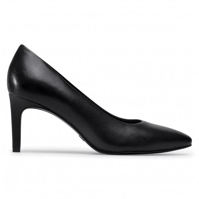 Tűsarkú TAMARIS - 1-22408-25 Black 001 - Tűsarkú cipő - Félcipő - Női XtZPt