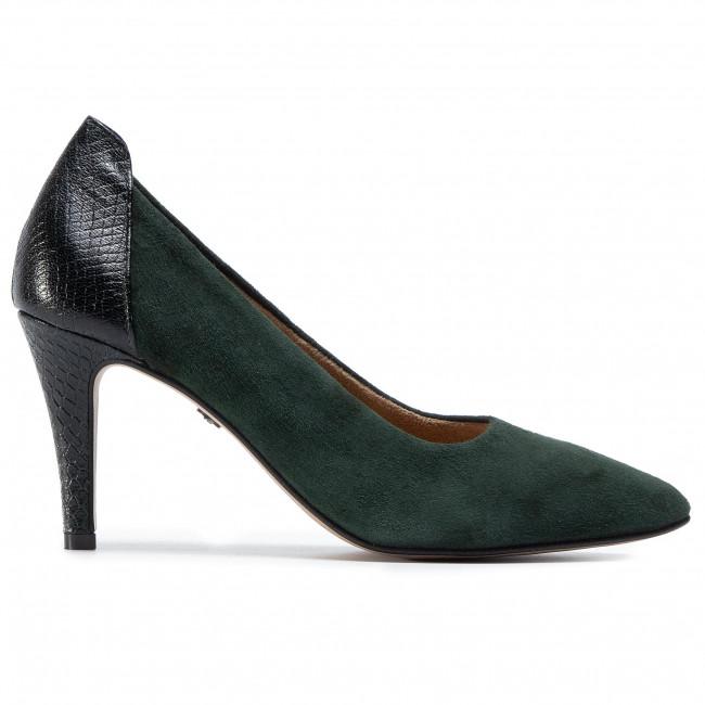 Tűsarkú TAMARIS - 1-22445-25 Forest Sue/Str 721 - Tűsarkú cipő - Félcipő - Női tqguj