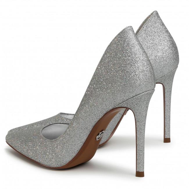 Tűsarkú MICHAEL MICHAEL KORS - Keke Pump 40T0KEHP2D Silver - Tűsarkú cipő - Félcipő - Női EmmQZ