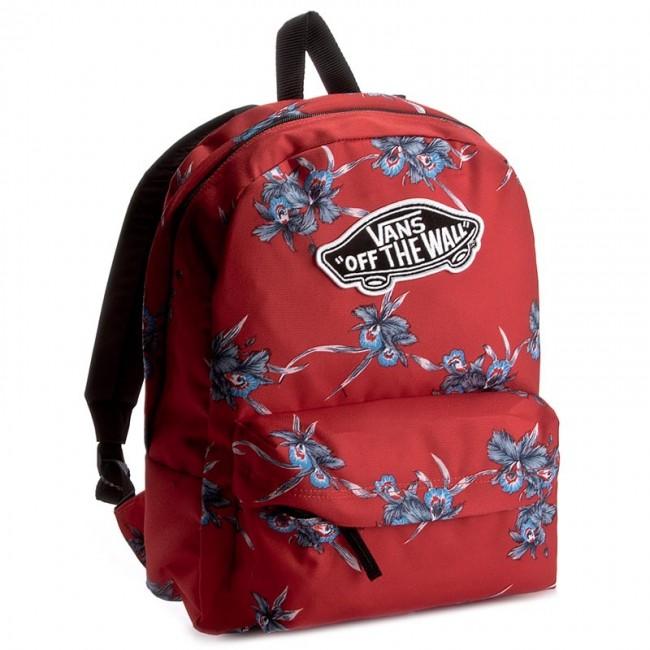 Hátizsák VANS - Realm Backpack VN000NZ0 Tomato Hawai - Sporttáskák ... da0bd0ddd7