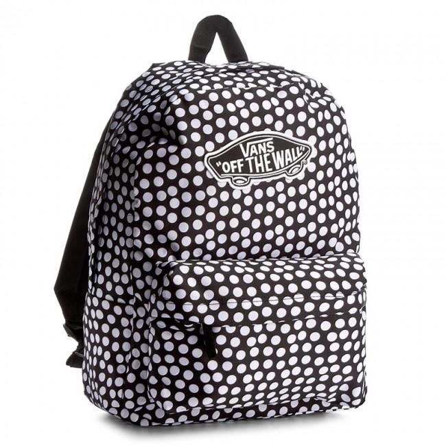 Hátizsák VANS - Realm Backpack VN000NZ0M9A Fehér Fekete ... 6eb3dfb550