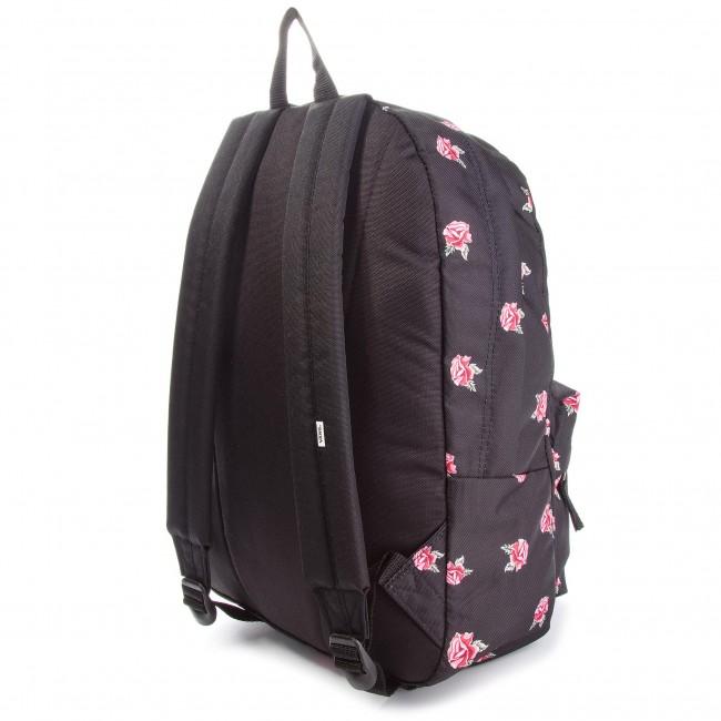 Hátizsák VANS - Realm Backpack VN0A3UI6RDU Black Rose - Laptoptáskák ... e97ddbcd71