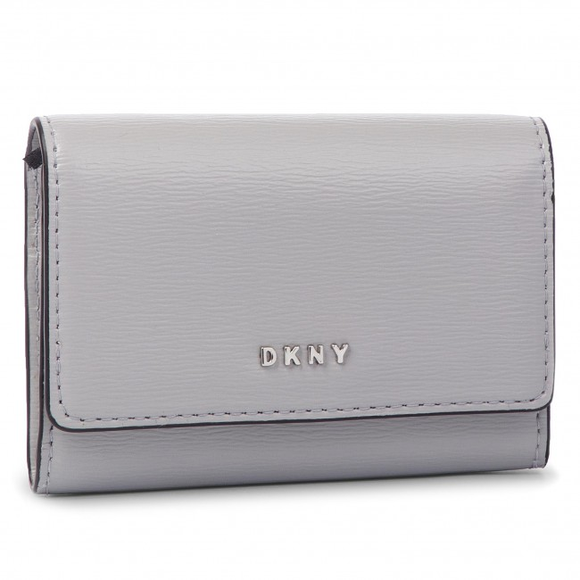 8c4a0af223 Kis női pénztárca DKNY - Bryant Card Case Id R82Z3503 Grey Melange ...