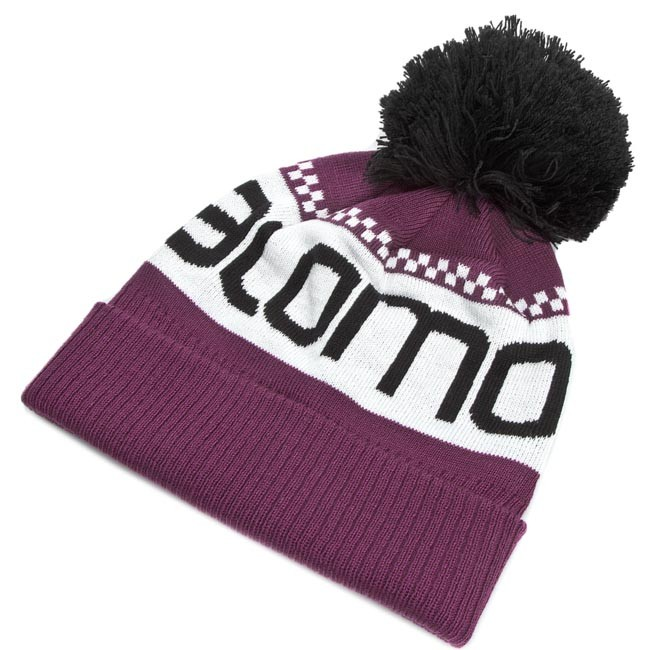 Sapka SALOMON - Junior Logo Beanie L37567300 Aster Purple - Férfi ... 907ab7caa3