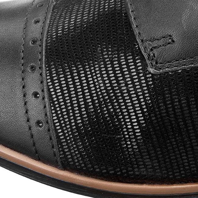 Oxford cipők LASOCKI - PETRA-06 Fekete - Lapos - Félcipő - Női - www ... c8305bc2f6