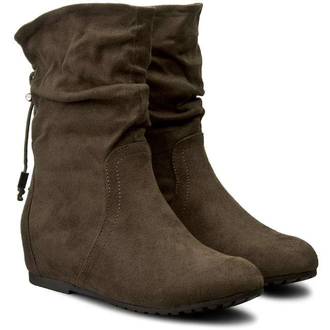 Magasított cipő JENNY FAIRY - WS1511-1 Khaki - Magasított cipők - Csizmák  és egyebek - Női - www.ecipo.hu c92f55abcf