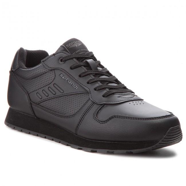 Sportcipő SPRANDI - MP07-171032-02 Black - Sneakers - Félcipő ... e055b050bc