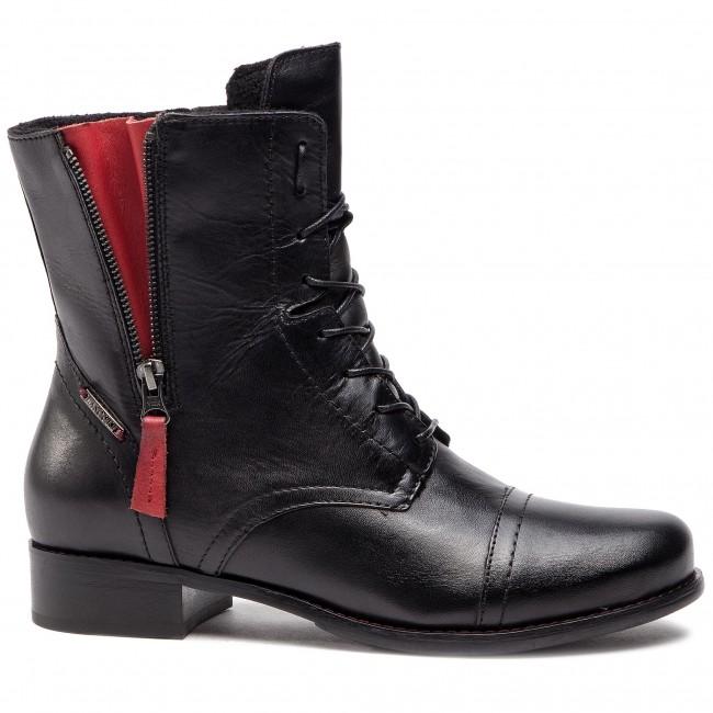 Magasított cipő LASOCKI - 70174-16BIG Fekete - Bokacsizmák - Csizmák és egyebek - Női JOZl8