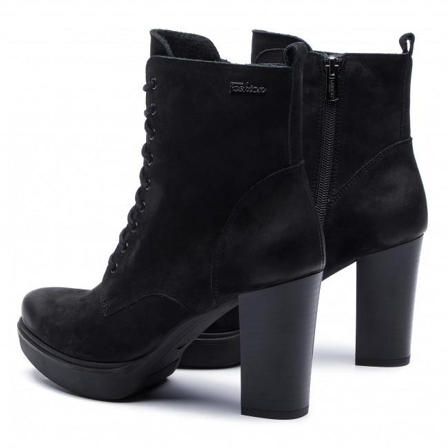 Magasított cipő LASOCKI - SOSNA-03 Black 1 - Bokacsizmák - Csizmák és egyebek - Női oIrsC