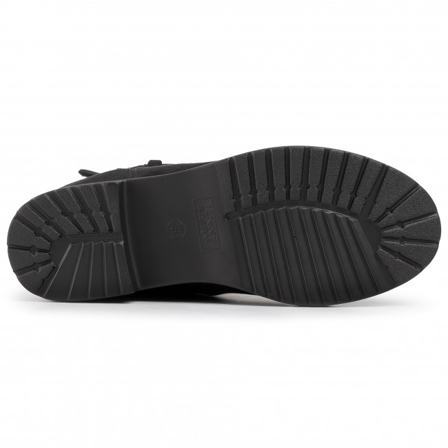 Magasított cipő JENNY FAIRY - WSA1012-1 Black - Bokacsizmák - Csizmák és egyebek - Női xKYoH
