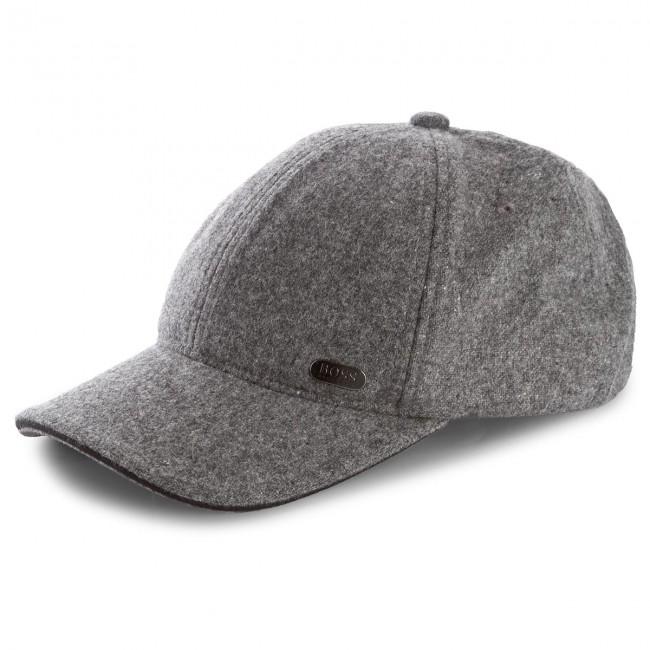Baseball sapka BOSS - Winter-Cap 50371439 Grey 031 - Férfi - Sapkák ... f5be215d2f