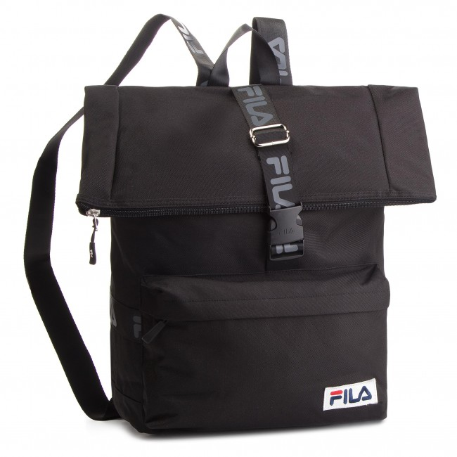 Hátizsák FILA - Rolltop Backpack Örebro 685045 Black 002 ... 7fe113e2aa