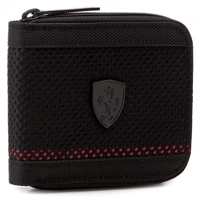 Nagy férfi pénztárca PUMA - Ferrari Ls Mesh Wallet M 074615 01 Puma Black 519a7a3f6b