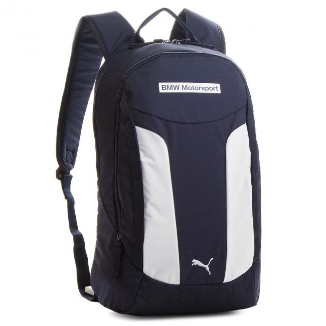 61585167fd Hátizsák PUMA - BMW Motorsport Backpack 075131 01 Team Blue Puma White