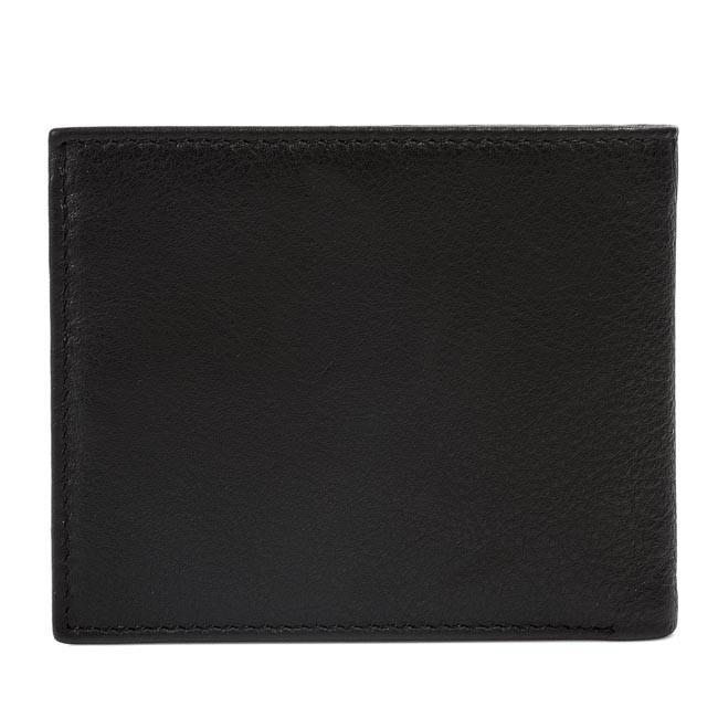 842e258768 Kis férfi pénztárca BUGATTI - Horizontal Wallet 49117301 Black ...