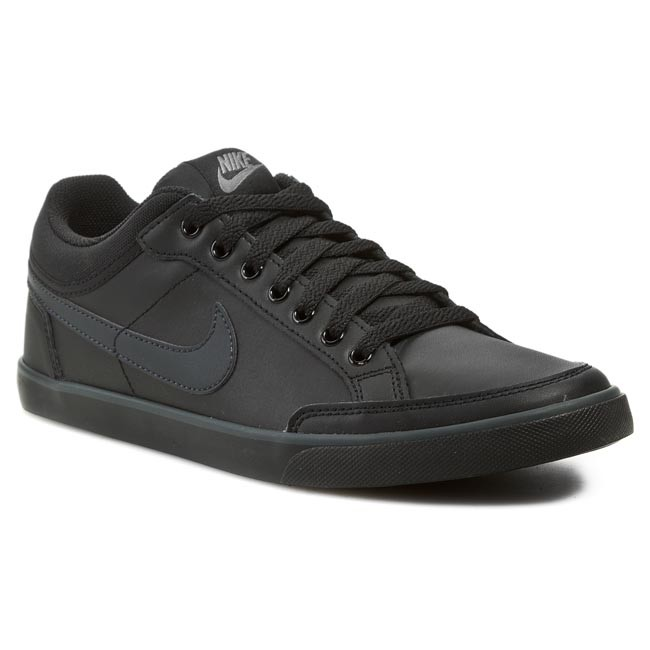 Cipők NIKE - Capri III Low Leather 579622 090 Black Anthracite ... 6265632b48