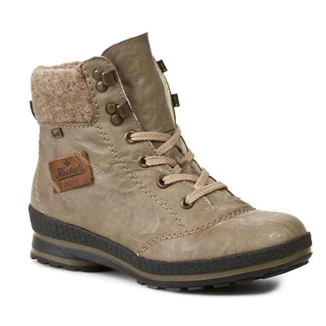 Bakancs RIEKER - Z2430-64 Beige Combination - Magasított cipők ... 0e02049655