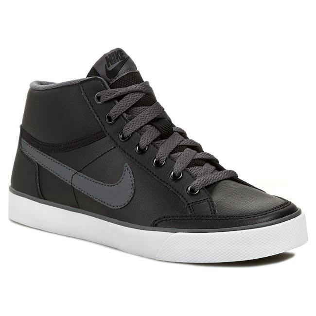 6711d49e49 Cipők NIKE - Capri 3 Mid Ltr 580410 015 Black/Dark Grey/White ...