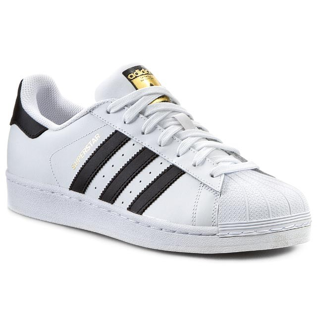 Cipők adidas - Superstar C77124 Ftwwht Cblack Ftwwht - Sneakers ... b2a2e84b77