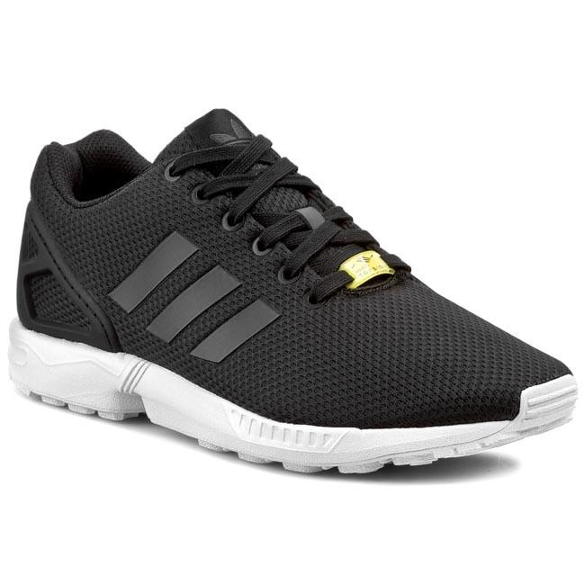 81d9942cdd Cipők adidas - ZX Flux M19840 Black1/White - Sneakers - Félcipő ...