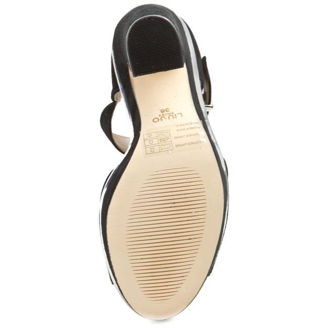 Szandál LIU JO Sandalo Monoblocco S15109 P0021 Nero 22222