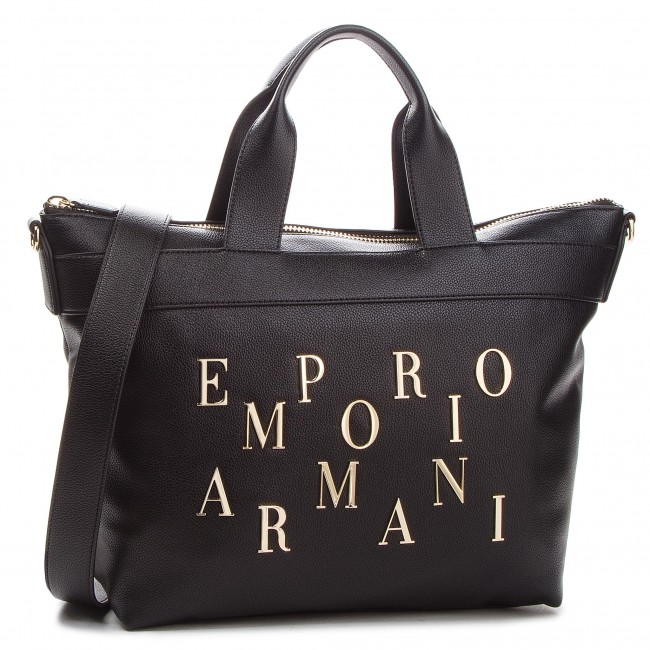 Táska EMPORIO ARMANI - Y3D106 YH59A 80001 Black - Klasszikus ... c4aaf39e00
