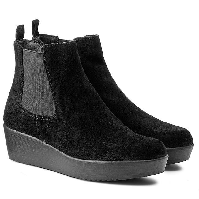 Magasított cipő TAMARIS 1 25481 25 Black Uni 007