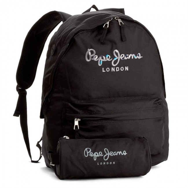 3cd5efcfd08a Hátizsák PEPE JEANS - Harlow Backpack & Carry All PB120013 999 ...
