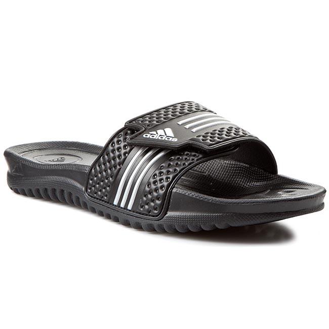 Papucs adidas - Melawar 665316 Black Black Silver - Papucsok ... 3f487fc038